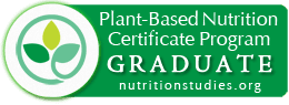 Plant-Based nutrition graduate badge