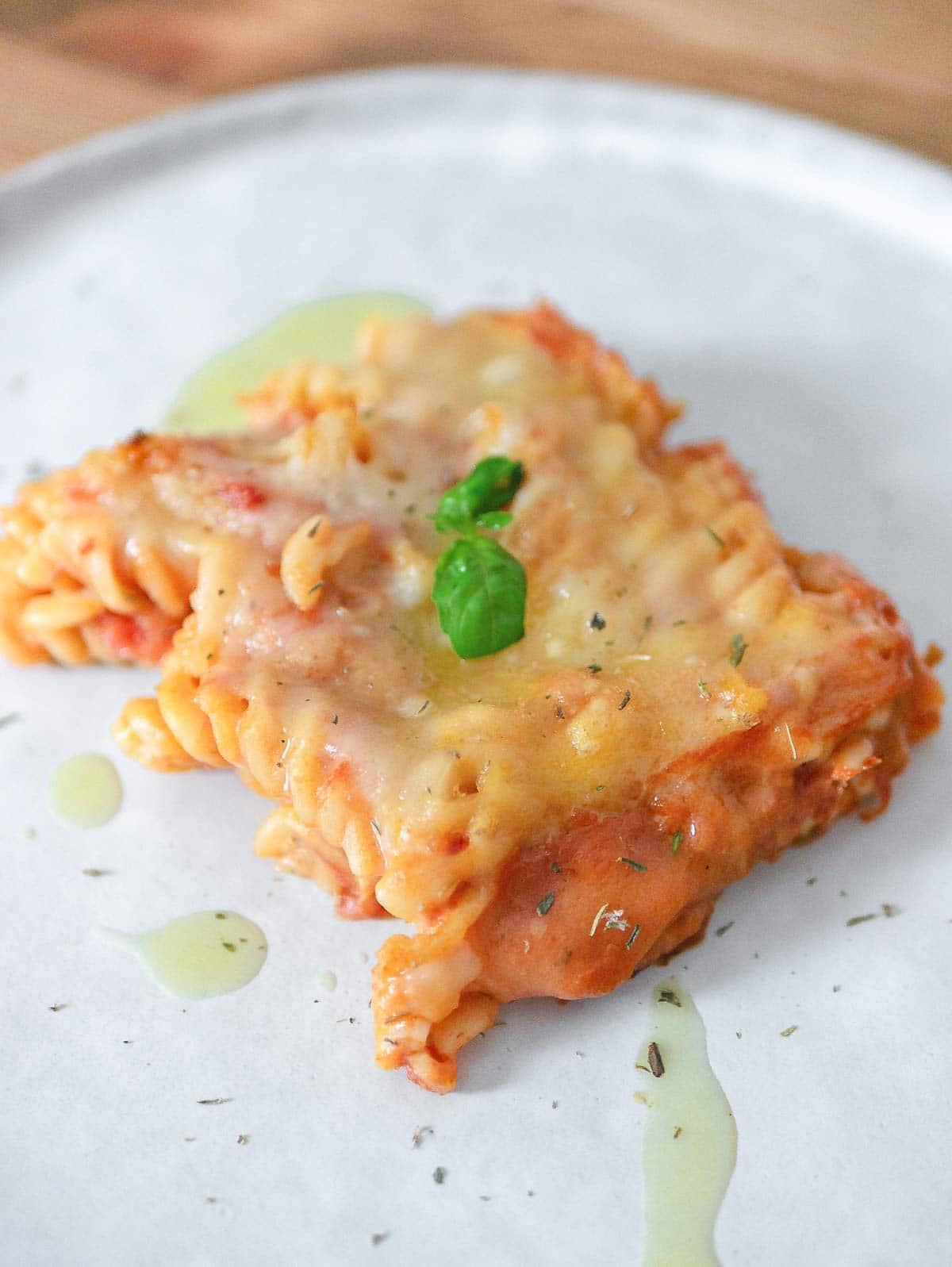 pizzaiola pasta bake