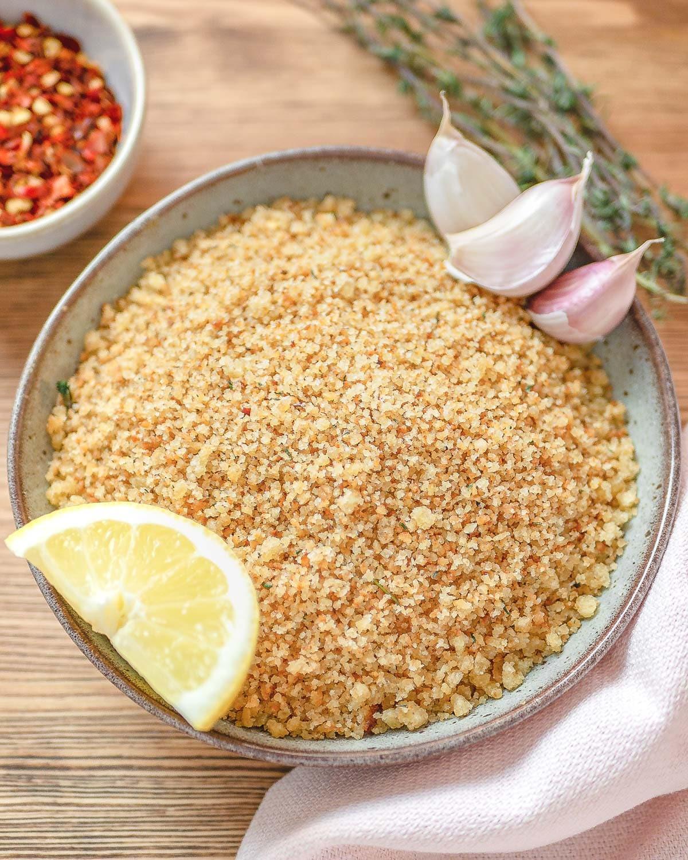 chili-lemon fake parmesan