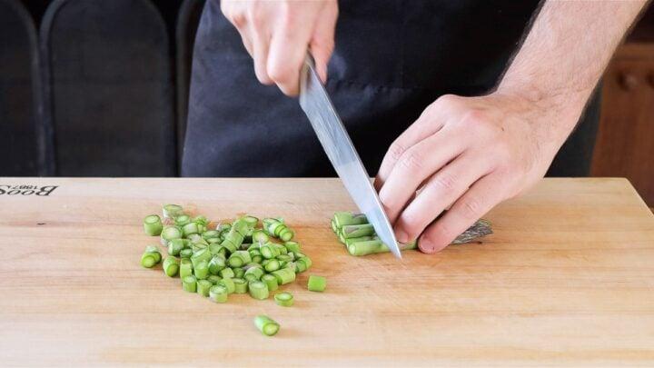 taglio gli asparagi