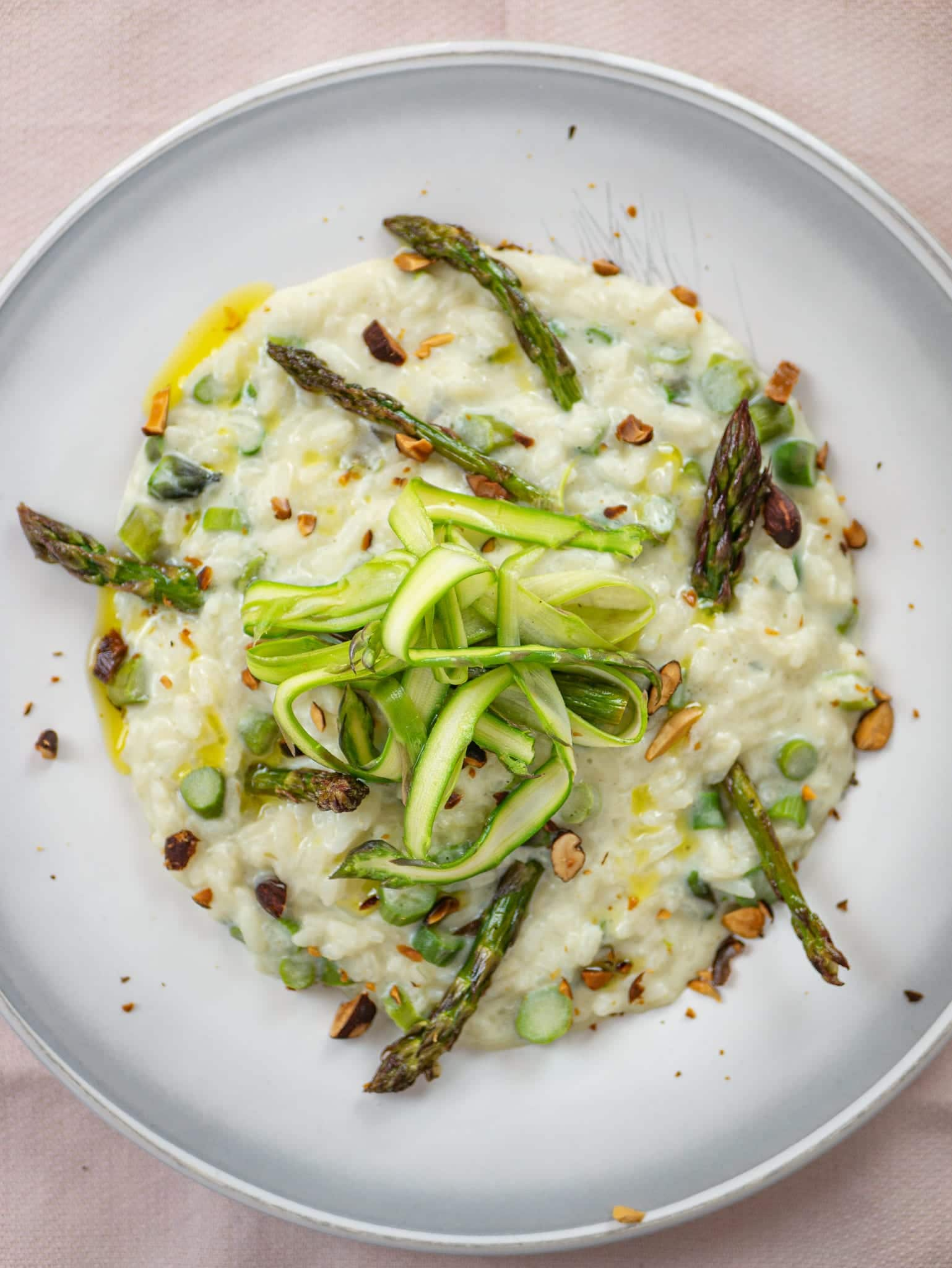 PREVIEW BEST VEGAN ASPARAGUS RISOTTO