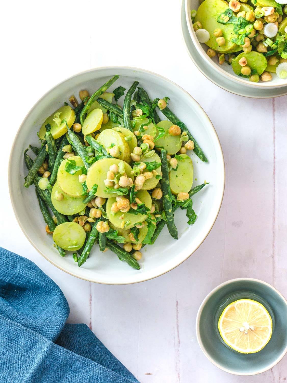 Genovese style potato salad