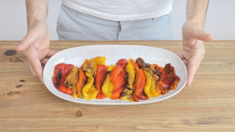 Arrange on a plate