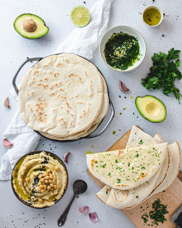 Vegan Flatbread the Italian way