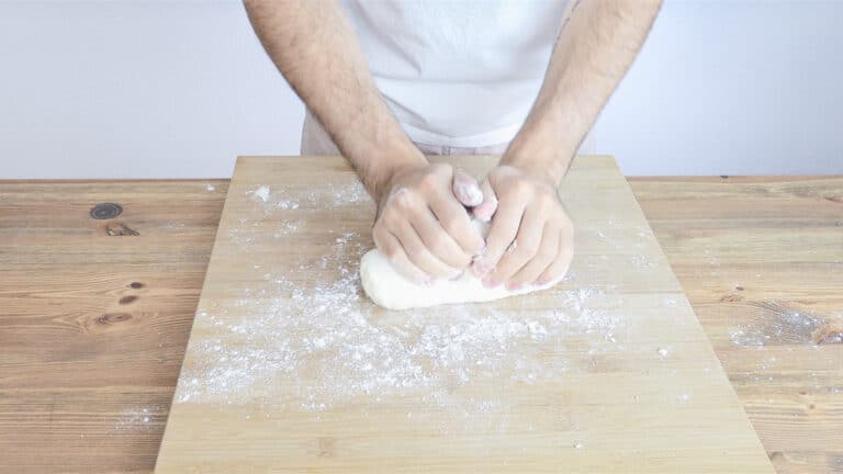 Knead by hand