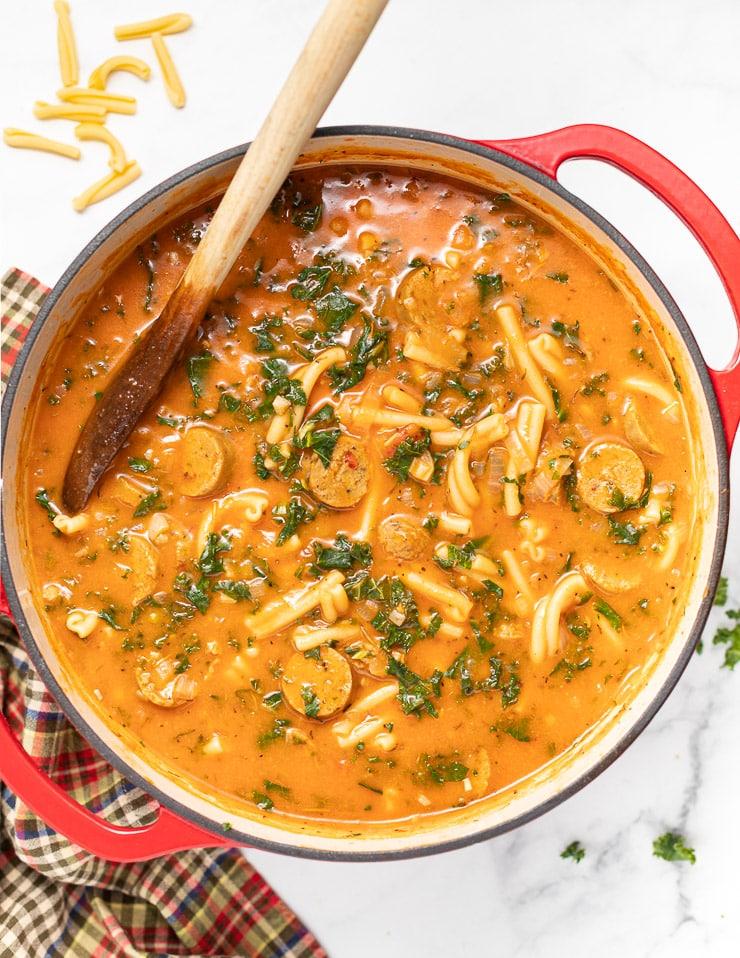 Vegan-Italian-Sausage-Pasta-Soup-A-Virtual-Vegan-12