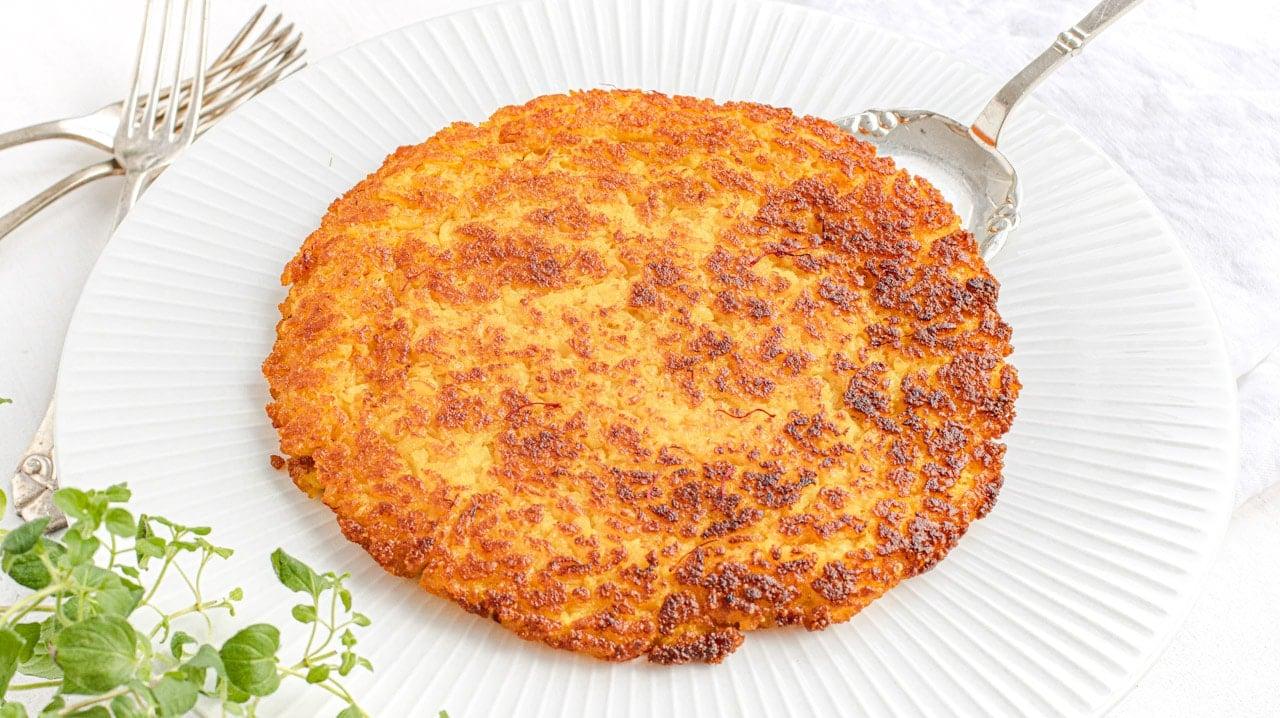 Riso al salto - Italian fried rice