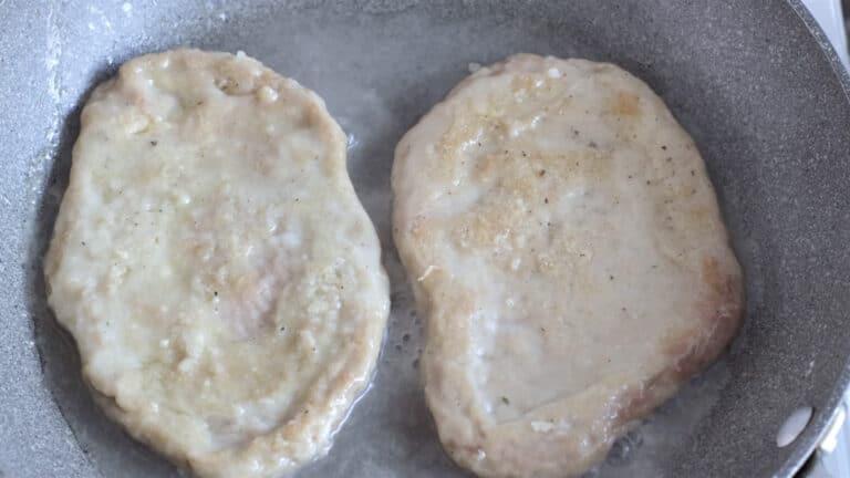 vegan mushrooms scaloppini step 5