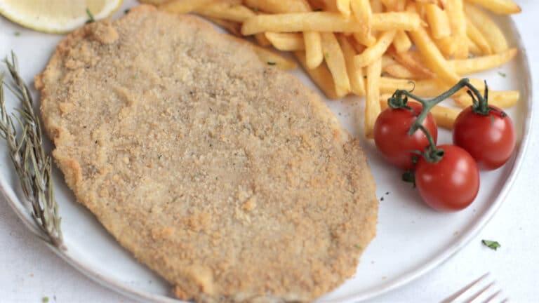 Vegan schnitzel step 7