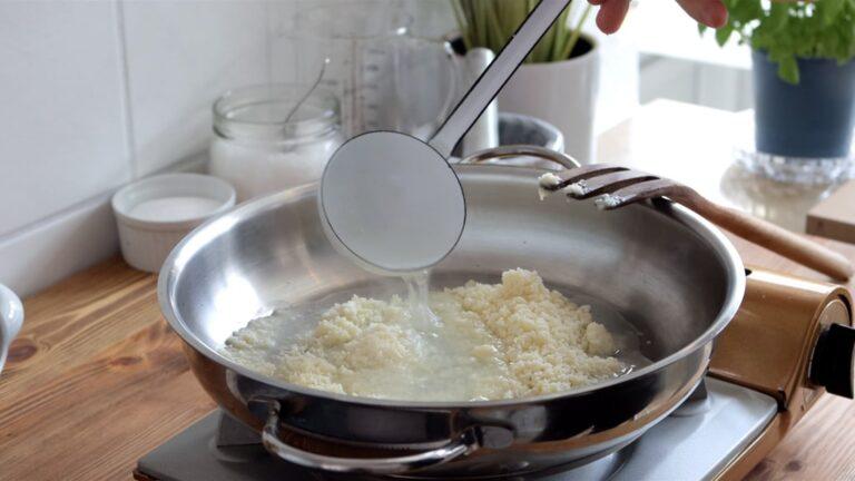 Cacio e pepe preparation Step-4