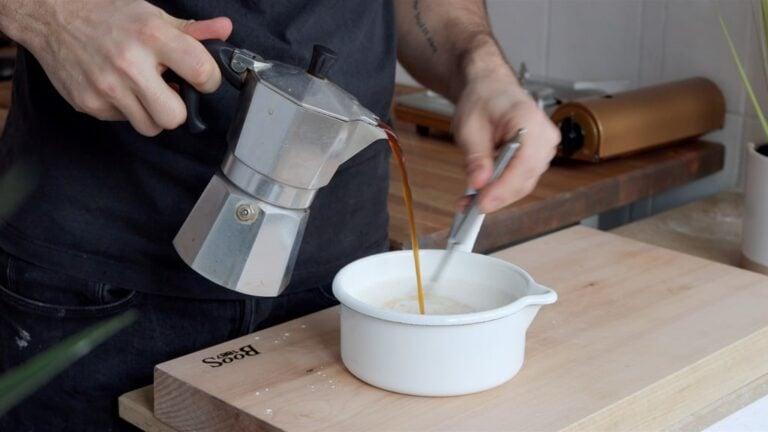 coffee custard_Step-1