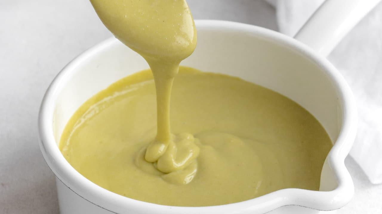crema pasticcera vegan  al pistacchio