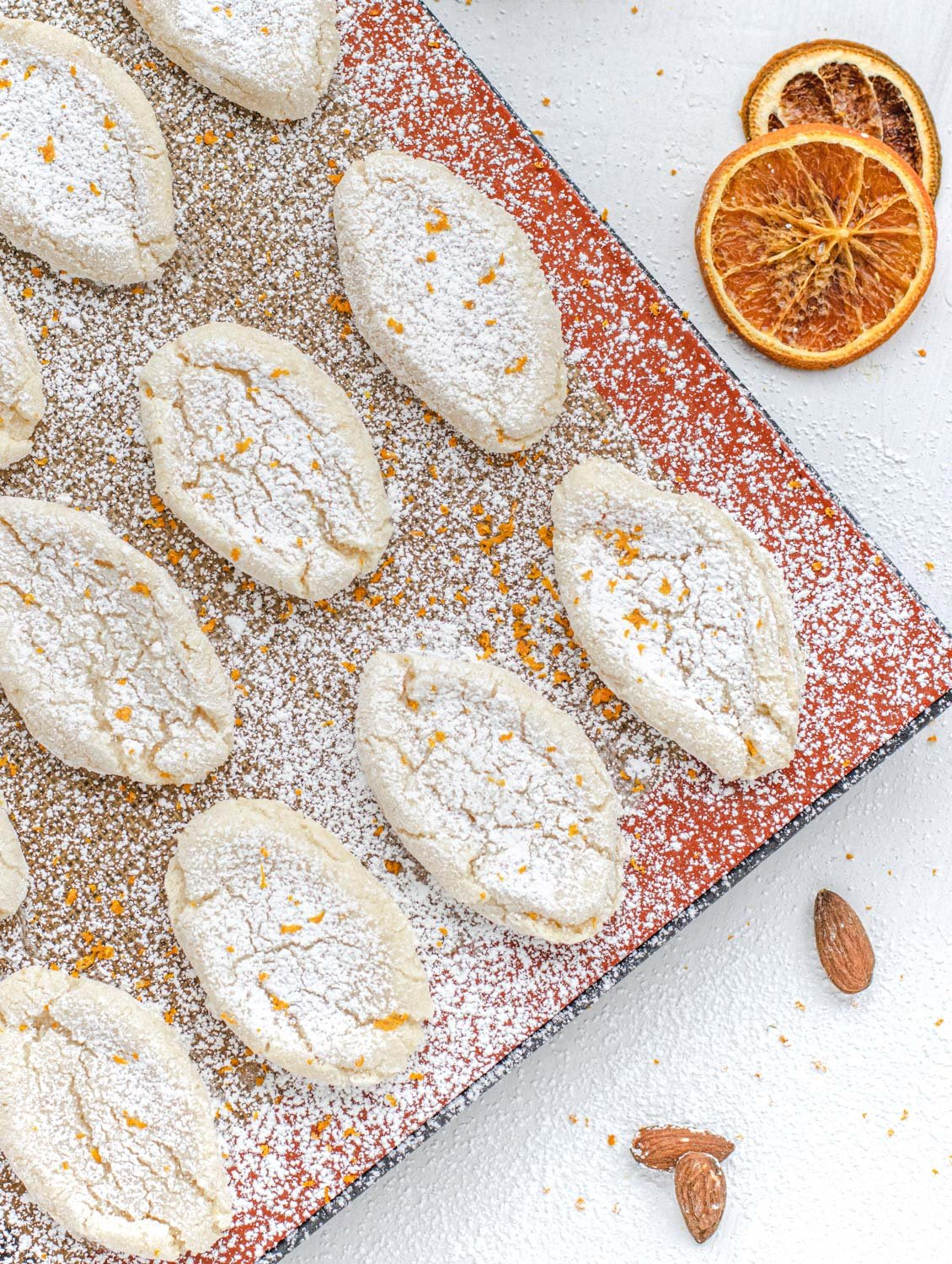 Vegan Orange Cookies