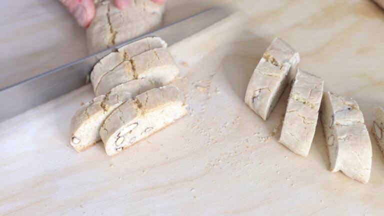 Vegan almond cookies step 7