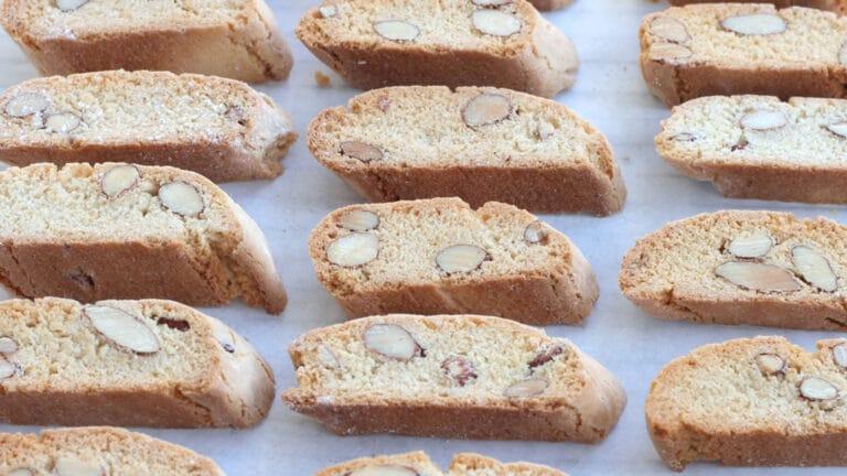 Vegan almond cookies step 8