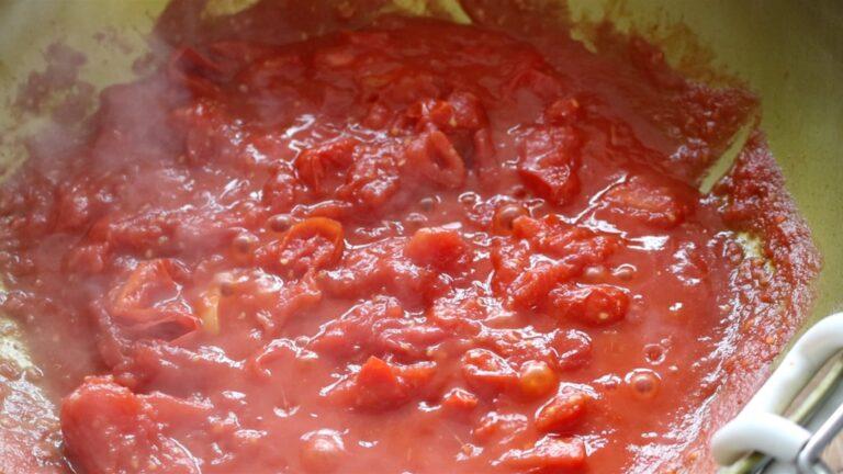 Pasta al pomodoro preparation step-4