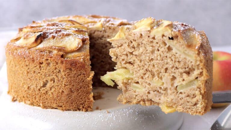 WHOLEGRAIN APPLE CAKE STEP-8