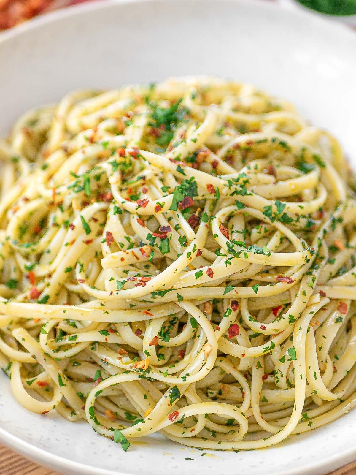 linguine aglio e olio