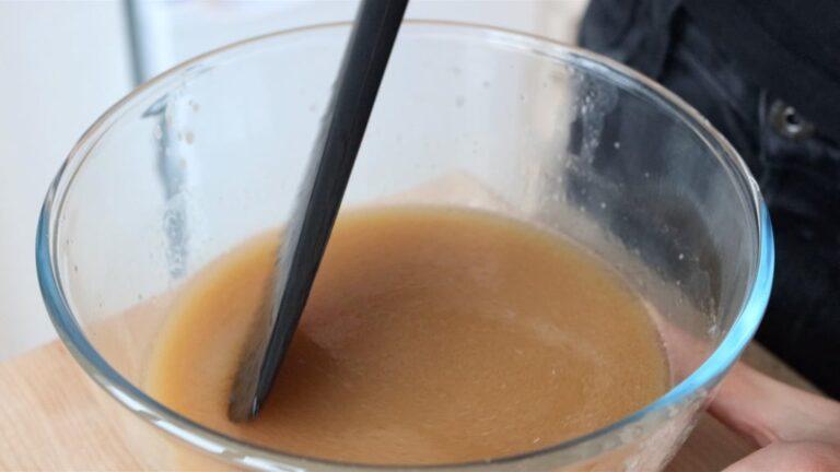 mixing liquids