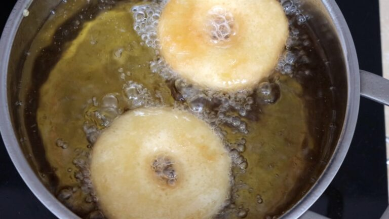 step 7: frying the apples