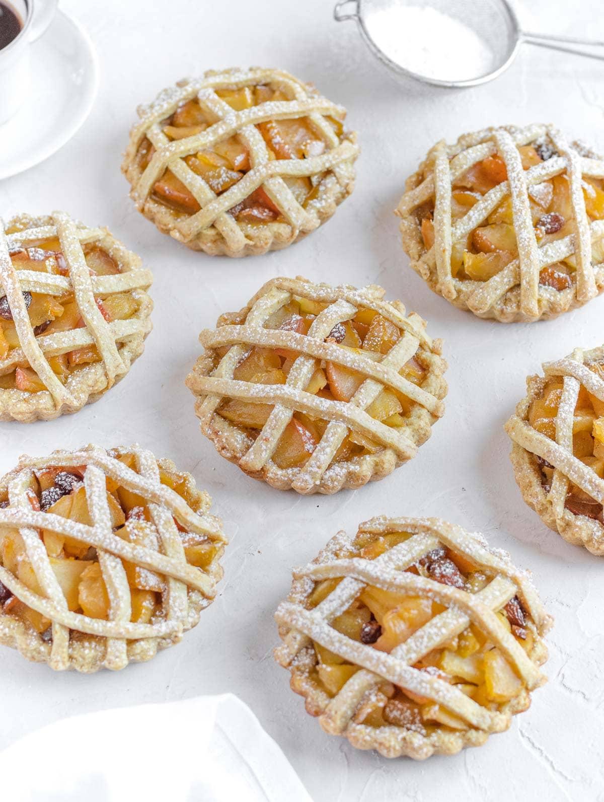 Mini apple tarts - crostatine di mele