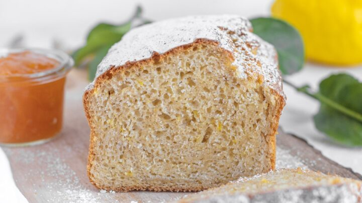 plumcake al limone vegano