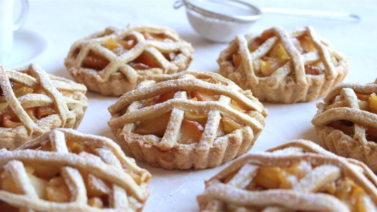 the apple tarts are ready