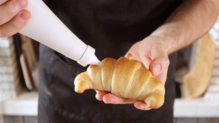 farcisco i croissants con la crema
