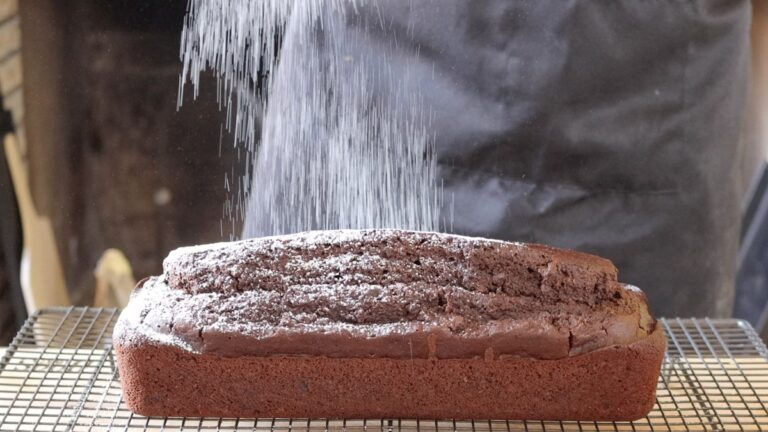 vegan chocolate poundcake