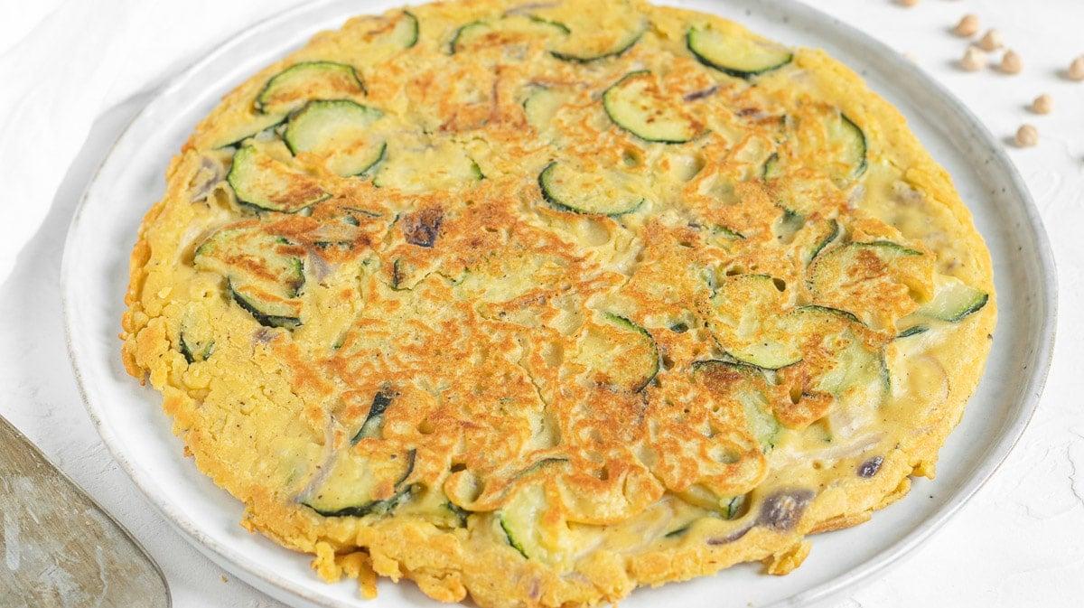 vegan frittata no eggs no tofu