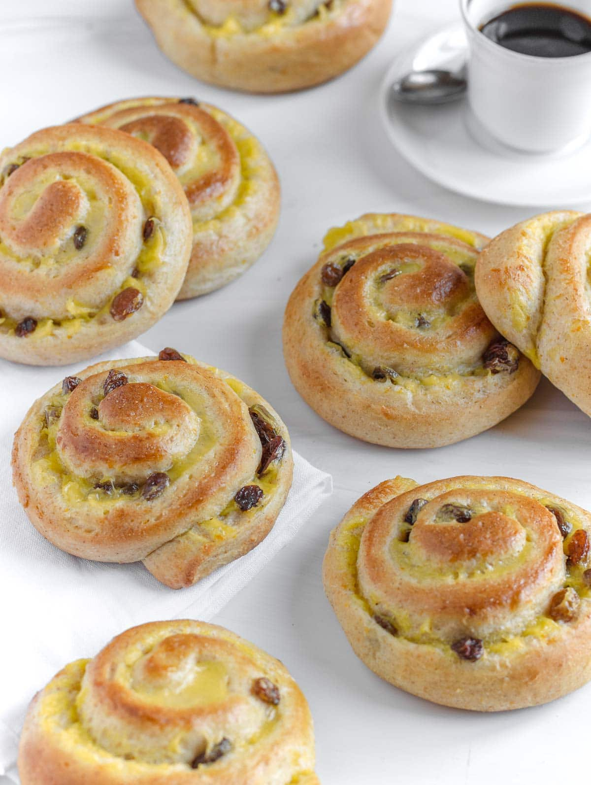 vegan brioche rolls