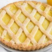 crostata al limone vegan