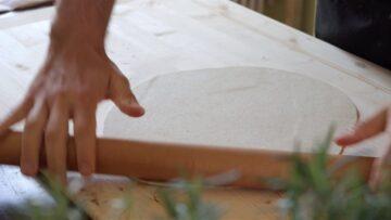 Stendo la pasta