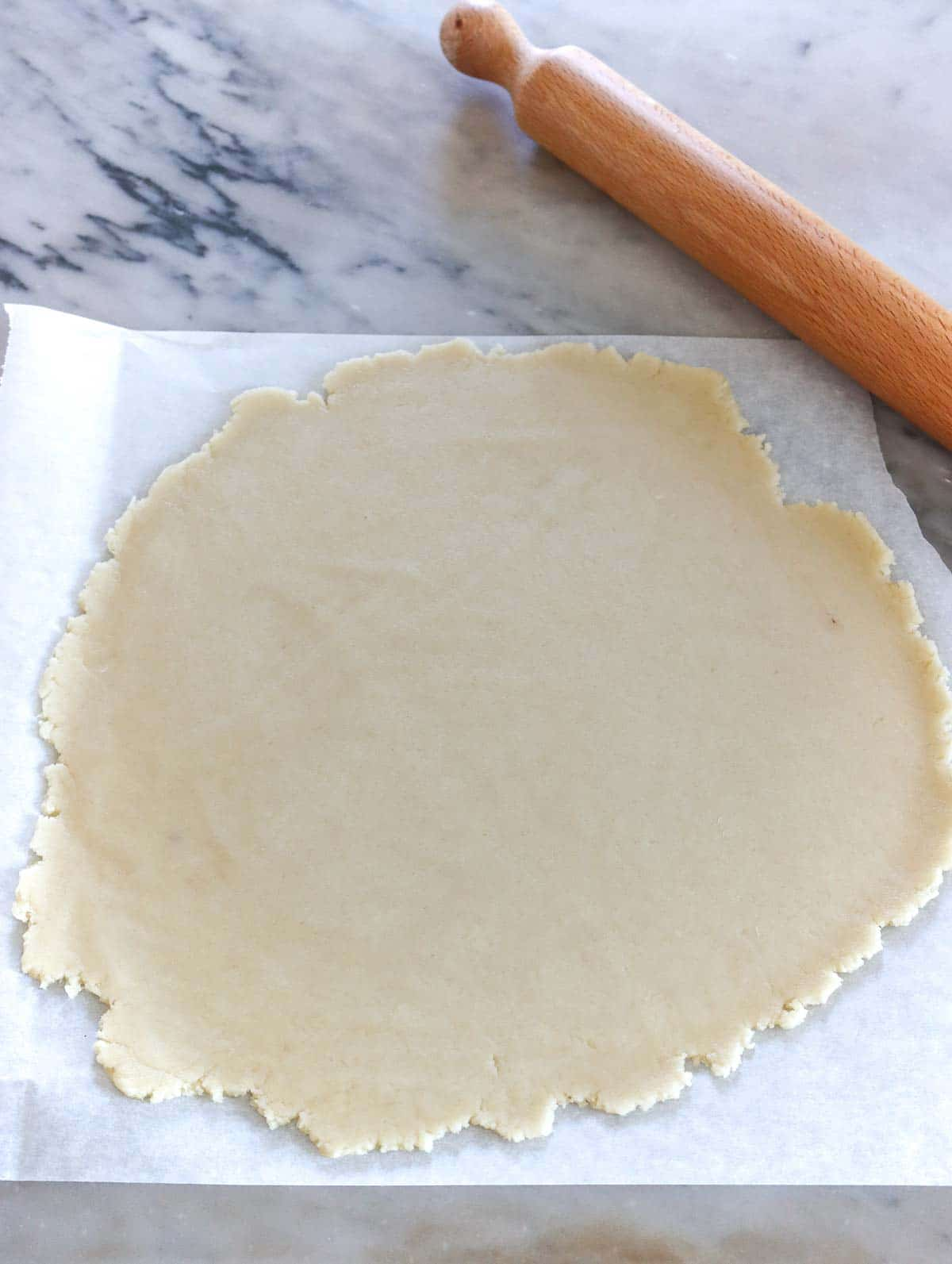 rolled shortcrust pastry