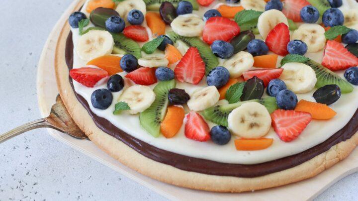 pizza alla frutta