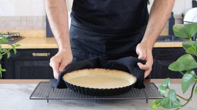 baked empty pie crust