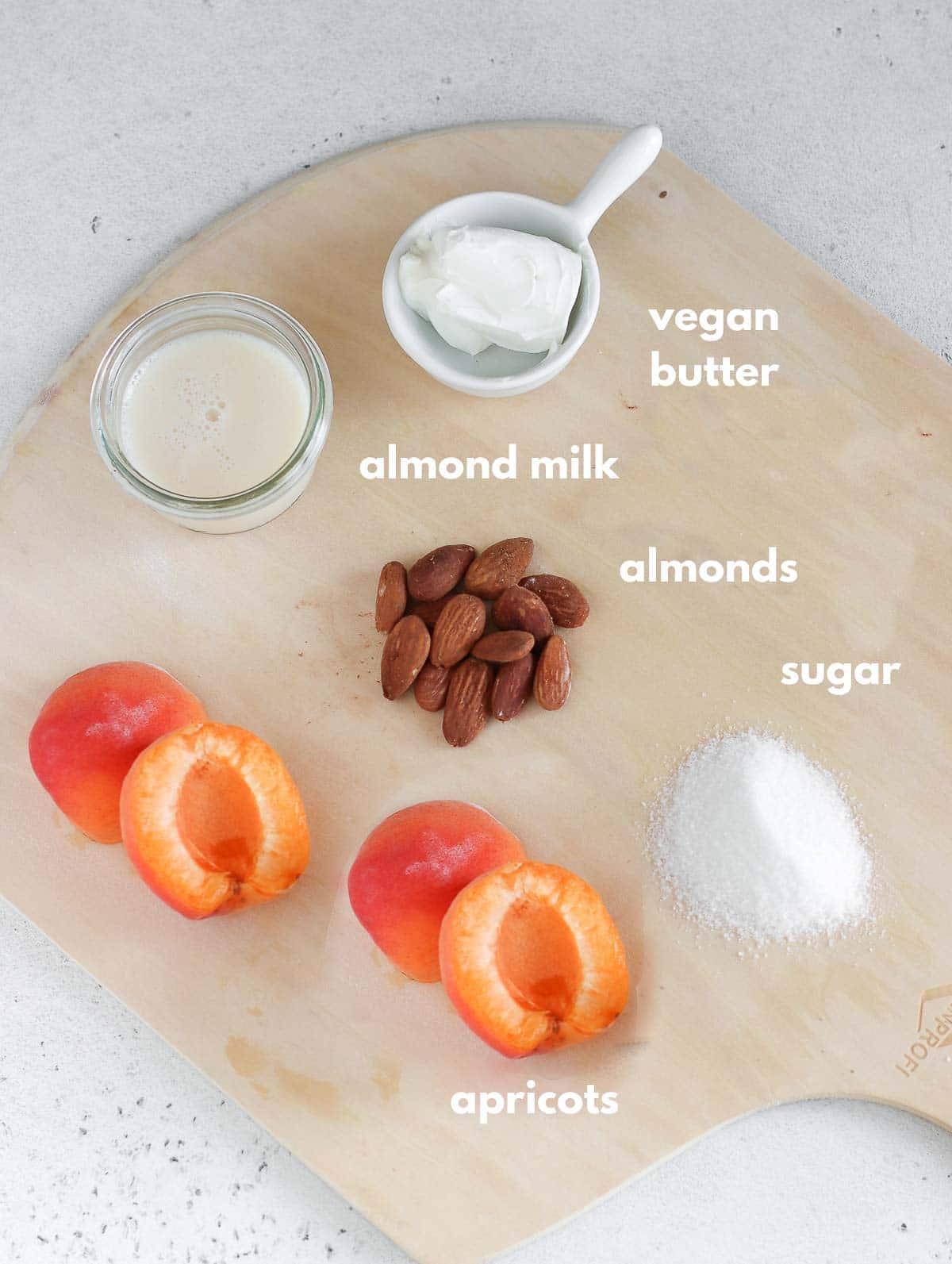 ingredients for frangipane