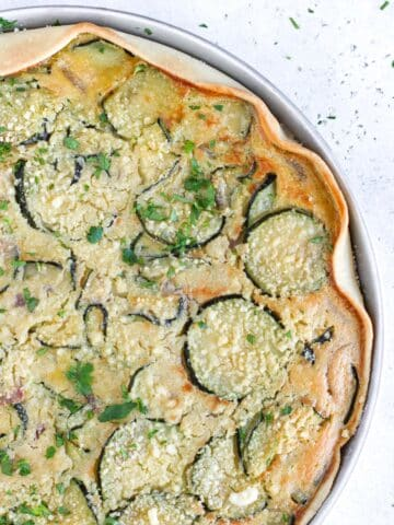 torta di zucchine