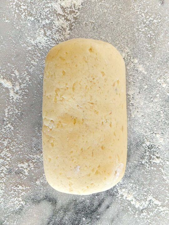 pasta per gnocchi fatta con patate e farina