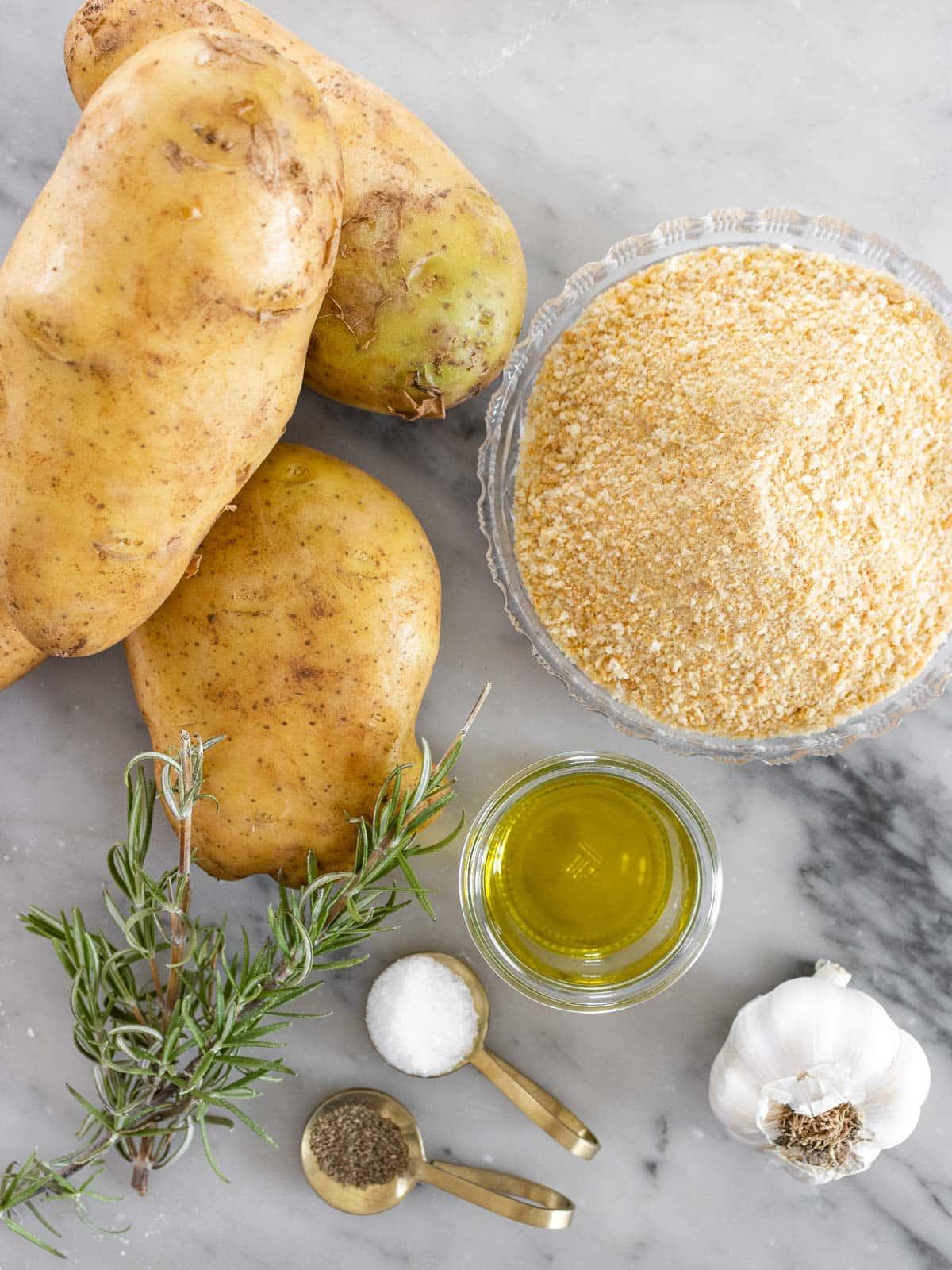 ingredienti per le patate arrosto
