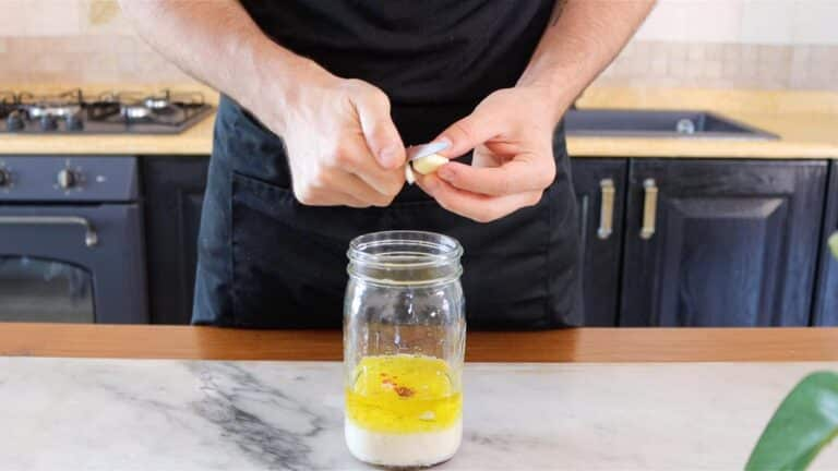 add ingredients to jar