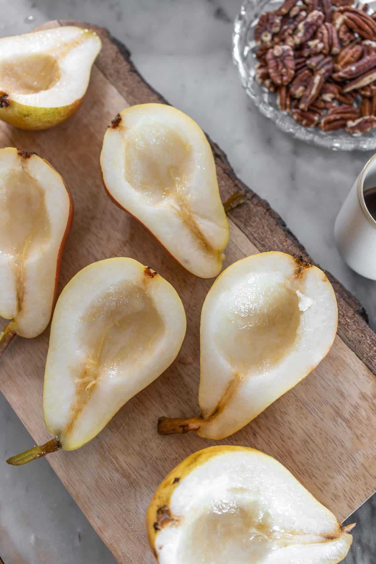pears without the seeds