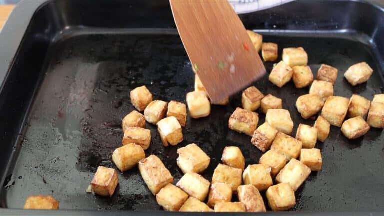 baked tofu dice